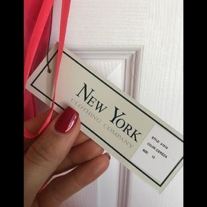 new york clothing company Dresses - NWT New York Clothing Co. Coral Dress, Size 12